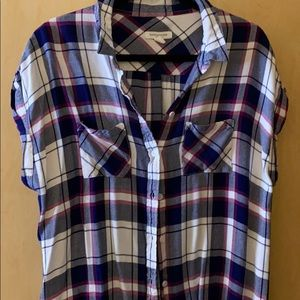 2 for $10 - Flannel top